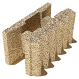 Блок Durisol 25-13